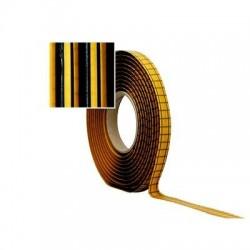 3M páska 8 mm x 4.6m pro přímé zasklívání čelního skla (had), černá-8611