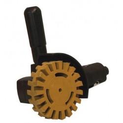 Pryžový odstraňovač lepidla s trnem, D88x15mm-PRD01