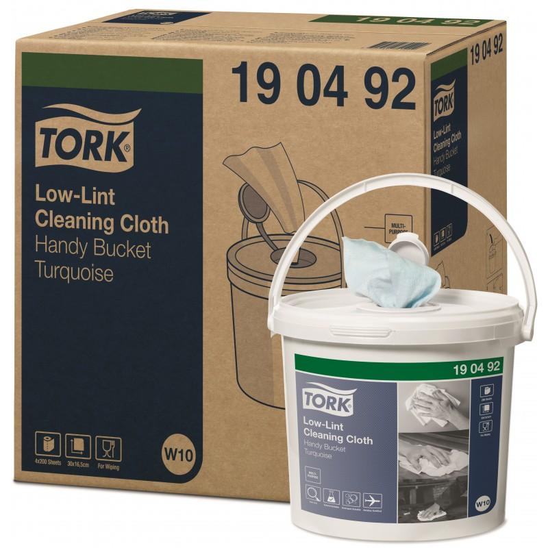 Tork čistící utěrka Low-Lint v kbelíku-190492