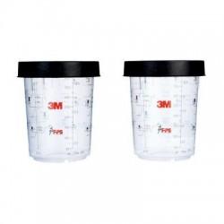 3M PPS pevný kelímek 400 ml, vč. kroužku-MIDI-26122