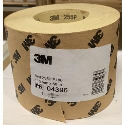 3M Brusný papír v roli 115mmx50m, P180 - 3M 04396