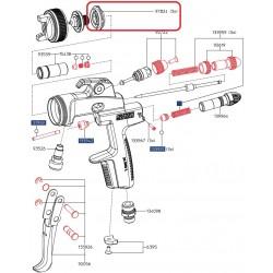 Vzduchový rozdělovací kroužek pod trysku pro SATAjet -97824