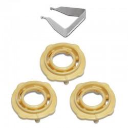 Vzduchový rozdělovací kroužek pod trysku pro SATAjet -143230