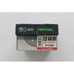 Festool brusný kotouč GRANÁT STF D90/6, P1200 - 498329