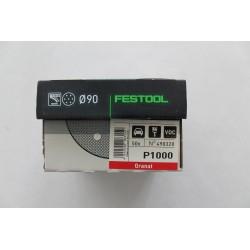 Festool brusný kotouč GRANÁT STF D90/6, P1000 - 498328