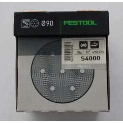 Festool brusné kotouče PLATIN 2 STF D90/0 S4000 - 498325