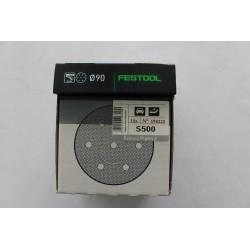 Festool brusné kotouče PLATIN 2 STF D90/0 S500 - 498322