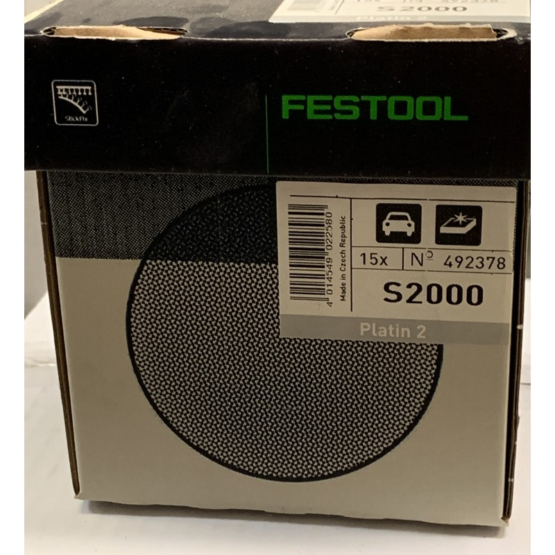 Festool Schleifscheiben STF D150//0 S2000 PL2//15