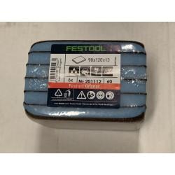 Festool brusná houba 98x120x13 P60 GR -201112