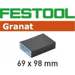 Festool brusná obdelníková houba 69x98x26, zrnitost P120 - 201082