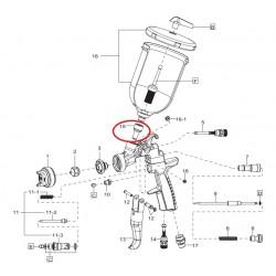 Adaptér na nádobku ke stříkací pistoli Anest Iwata AZ3 HTE-S-3COM5038