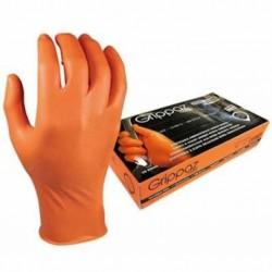 Protismykové nitrilové rukavice 0,15 mm GRIPPAZ-246