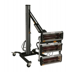 Infra zářič AllorA IR AH 3-1 3000W-Z703