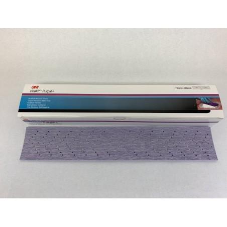 3M Brusný arch fialový 734U, perforovaný (70 x 396 mm),P400 - 3M 30614