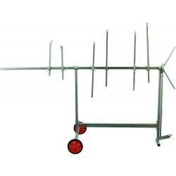 Lakýrnický stojan otočný AllorA-Z100