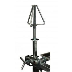 AllorA Ovladatelný držák ráfků na lakýrnický stůl-Z125