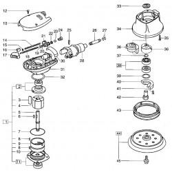 Festool náhradní díl - O-kroužek 6x1 perbunan-204118