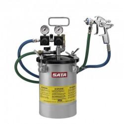 SATA stříkací set 10l provedení pro laky ředitelné vodou SATA 16782