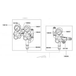 SATA Dvojitý redukční ventil