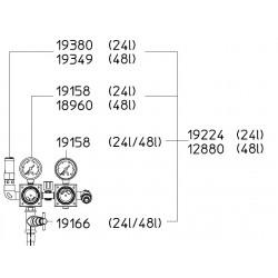 SATA Dvojitý redukční ventil SATA 19224