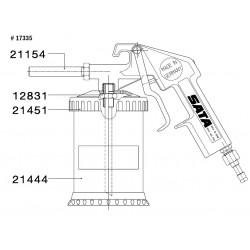 SATA plastová přísavka bez víka 0