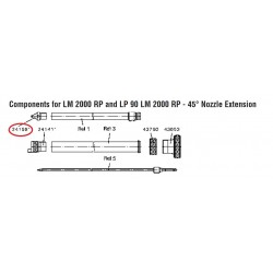 SATA Tryska 1.6 pro prodloužení [LM / GR] SATA 24158
