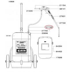 SATA SGE hadice pro lakování 6 mm ID