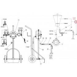 SATA Přídavná souprava gravitační nádoby PVC 6 l SATA 37226