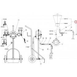 SATA Přídavná souprava gravitační nádoba PVC 6 l SATA 37986