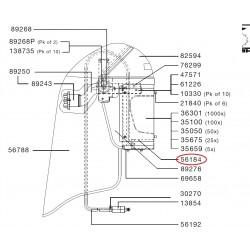SATA Pěnové pouzdro pro respirátor CE SATA 56184