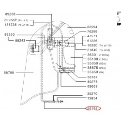 SATA Dýchací vzduchová hadička SATA 56192