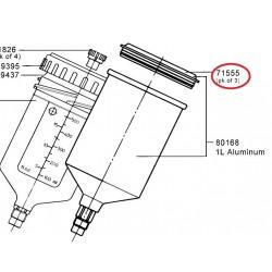 SATA Plastové víko (balení 3 ks) SATA 71555