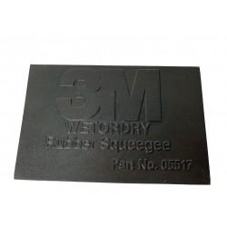 3M Gumová stěrka černá-05517