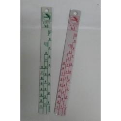 Hliníková měrka 20 cm